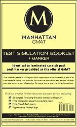 Manhattan GMAT Test Simulation by Manhattan GMAT (2007) Spiral-bound