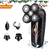 Electric Shavers for Men Electric Razor for Head and Face,Waterproof 5 in1 Bald