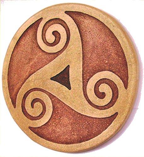 Amuleto celta Triskel Magico, para el amor y protección