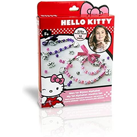 Ct - Ciao Kitty - Ct04981 - Creativo Kit Recreation - Il mio primo alfabeto gioielli - Ciao Kitty Kit