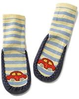 Playshoes Unisex-Baby Socken Hüttenschuh Auto, BLICKDICHT