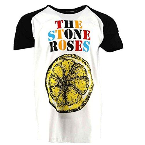 The Stone Roses Lemon Official Baseball Raglan Tee, M or XXL