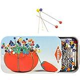 Kleiber - Alfileres con cabeza de plástico, multicolores