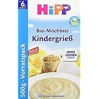 Hipp Bio Kindergrieß, 4er Pack (4 x 500 g)