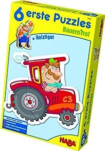 HABA 3900 - Puzzle Infantil, diseño de Granja