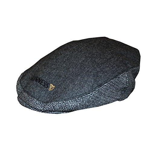 guinness-grigio-tweed-cappello-media-grande-grigio-grigio-m