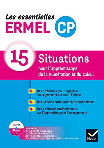 Les Essentielles ERMEL 15 Situations - CP éd. 2016 Guide + CDRom