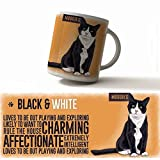 Moggies range Cat Breed Mugs, huge selection from the original metal sign company (Black & White)