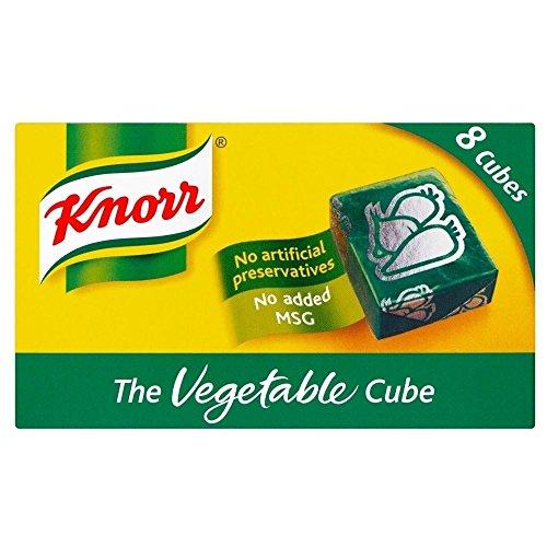 Knorr cubes de bouillon de légumes (8x10g) - Paquet de 2