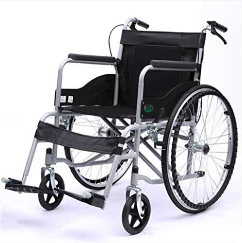 L-Y Alter Einfachheit Alter Einfachheit Rollstühle Falten Falten Alter Einfachheit Rollstuhl, mit Toilette, Old Cart, Portable, Senioren Behinderte Roller, a (Portable Toiletten Für ältere Menschen)