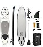 Best Inflatable Paddle Boards - HIKS Grey 10.6ft/3.2m Stand Up Paddle SUP Board Review