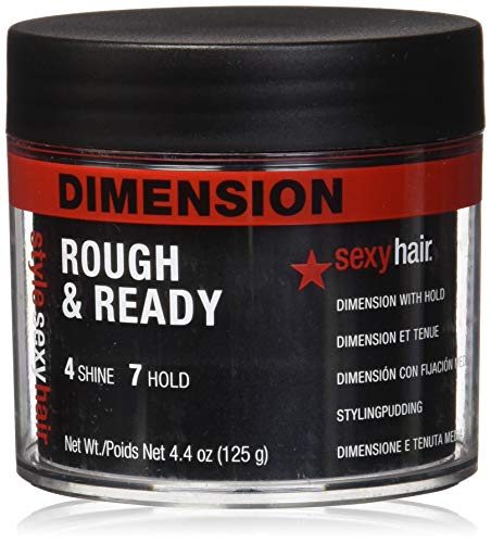sexyhair Style Sexy Hair Rough & Ready, 1er Pack (1 x 125 g)