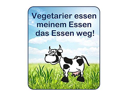 GRAZDesign 721291_57 Wandsticker Sticker Kühlschrank für Küche Vegetarier essen meinem Essen (66x57cm)
