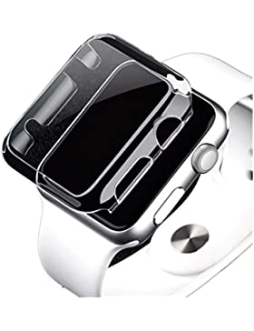 Ouneed Für apple watch 38mm Series 2 Hülle , Ultra-Slim Crystal Clear PC Harte Schutzhülle Cover For Apple Watch...