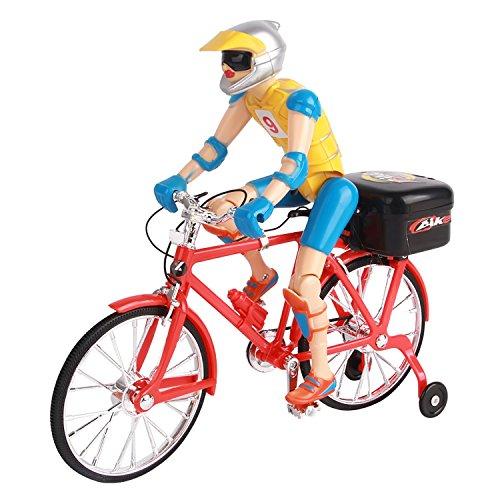 Preisvergleich Produktbild Kind batteriebetriebene Kind Baby Elektro-Fahrrad Bike Modell Puppe Spielzeug mit Musik und Licht