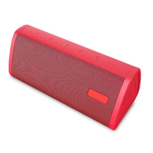 Tragbare Bluetooth Lautsprecher Außen Wasserfest Haushalt Stoßfest Party Mini Player Intelligenz Wireless Premium Kreativ Reise Klein Strand Schwimmbad Freisprechfunktion Dual Treiber Reinem Bass,red