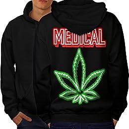 sweat a capuche cannabis logo adidas