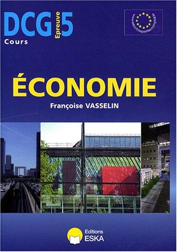 Economie : DCG Epreuve 5