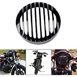 'ICT Ronix 53/4Aluminum Phare Protection Cover Grill pour Harley Sportster XL 8831200