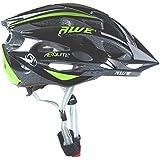 AWE® AeroLiteTM 24 Vents doppio In-Mould per Casco Bici Adulto 56-58cm Nero/verde