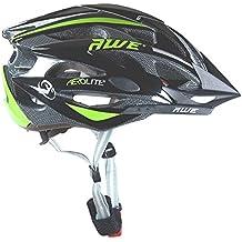AWE® AeroLite™ 24 Vents doppio In-Mould per Casco Bici Adulto 56-58cm Nero/verde