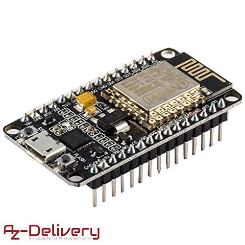 AZDelivery Módulo Wifi NodeMCU Lua Amica V2 ESP8266 ESP-12E Wifi Placa de Desarrollo con CP2102