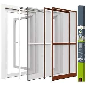 Easy Life Moustiquaire De Porte Porte Fen Tre Cadre En Aluminium Fixation Sans Vis