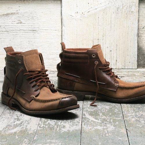 Timberland Boot Company Counterpane 7 Eye Boat Chukka Braun