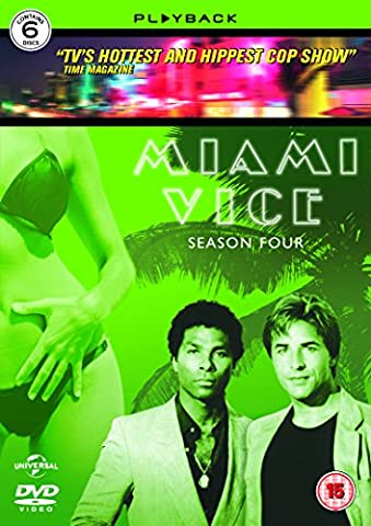 Miami Vice - Season 4 (2013 Re-issue) [DVD]