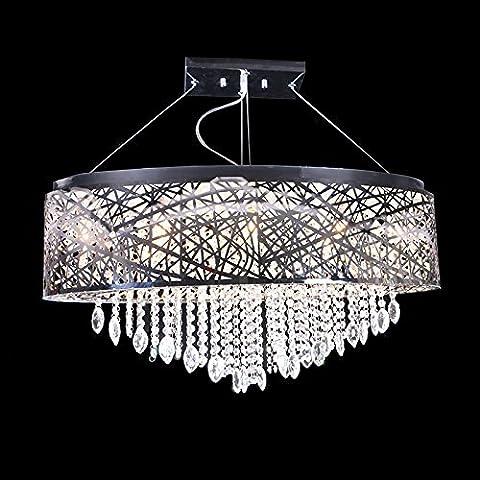 LINA-Camera / ristorante / hotel / sala / club / regalo Lampada da soffitto di Margherita cristallo cromo (800 * 300 * 380mm)