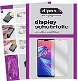 dipos I 6X Schutzfolie klar passend für Asus ZenFone Max Pro (M2) Folie Bildschirmschutzfolie