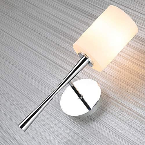 Lampada da parete in vetro creativo lampada da comodino in ferro in ferro da letto lampada da comodino in arte in ferro soggiorno luci decorative luce per scale luce d'ingresso