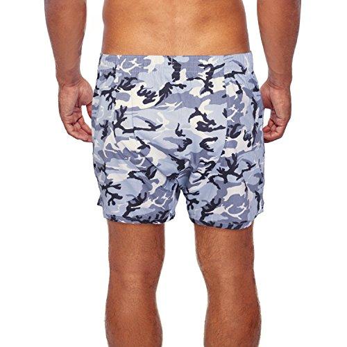 ... Boxershorts mit witzigen Motiv-Prints aus 100% Baumwolle Snow Camou