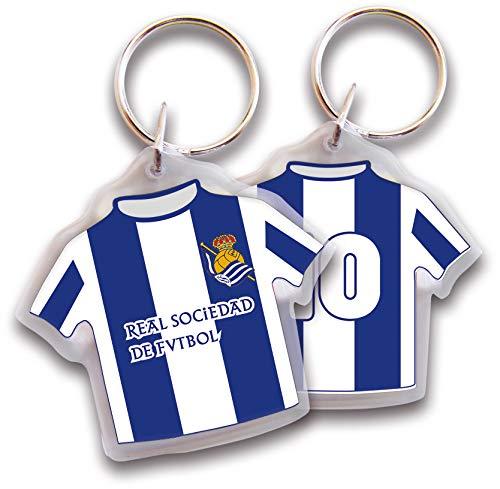 Real Sociedad Llavero Camiseta Plástico