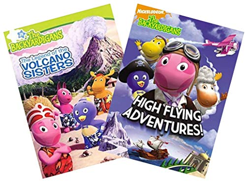 Nick Jr. The Backyardigans 2-Pack DVD Collection: High Flying Adventures / The Legend of the Volcano Sisters