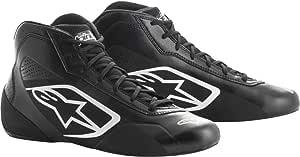 Chaussures Alpinestars Tech-1 K Start 18 Noir//Blanc 37