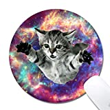 Astronaut Cat Mouse Pad Mousepads,Cute Funny Mousepad Pads Mat for Gaming Game Office Mac Astronaut Cat