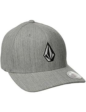 Volcom Unisex Schildmütze Full Stone Hthr Xfit Cap Baseballmütze Flexfit Grau