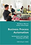 Business Process Automation: Performance and Capacity Planning with BPEL