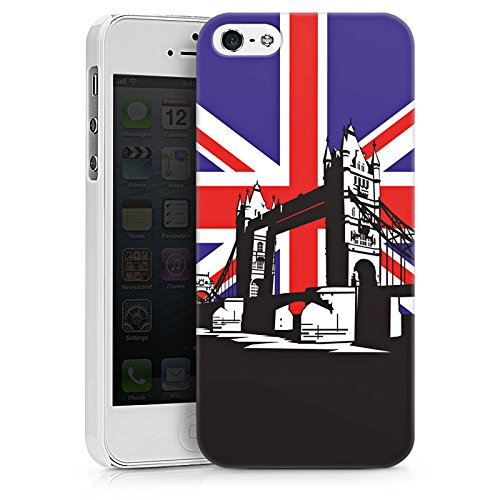 Apple iPhone X Silikon Hülle Case Schutzhülle London Großbritannien Tower Bridge Hard Case weiß