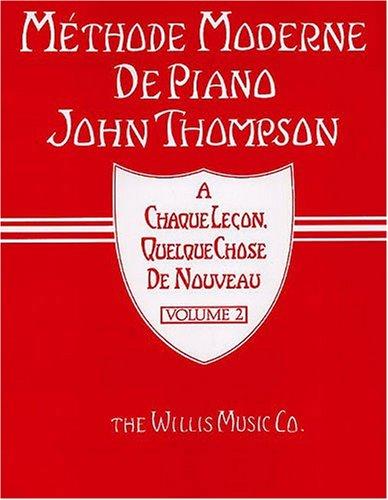 Méthode moderne de piano Volume 2 - Pia...