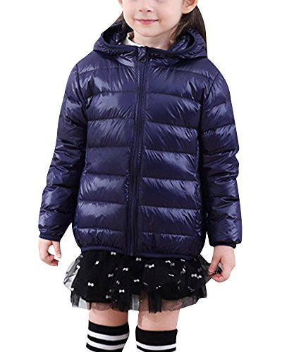 Piumino leggero unisex bambina cappotto a vento giacca di piuma giubbotti piumini marina militare 140