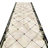 Tapis MeiHao Corridor Runner Carpet Corridor Aile Carpet Mix Slip Jacquard Slip,...