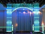 Glasfaser-LED-Licht, 16 W, RGBW, 450 Stück, 0,75 mm, 2 m, für Sternenhimmel + IR-Fernbedienung mit 28 Tasten - 6