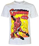Unisex's Michael Jordan NBA Dunk In Amazing Air T-Shirt (White,M)