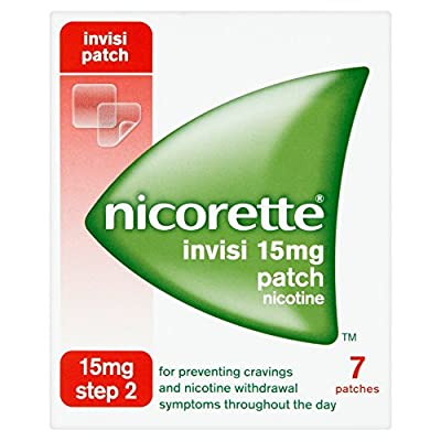 Nicorette Invisi 15mg Patch Step 2 by McNeil Products