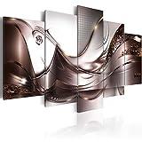 murando - Bilder 100x50 cm Vlies Leinwandbild 5 TLG Kunstdruck modern Wandbilder XXL Wanddekoration Design Wand Bild - Abstrakt Blumen a-A-0004-b-p