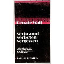 Verbrannt, verboten, vergessen. Kleines Lexikon deutschsprachiger Schriftstellerinnen 1933 bis 1945