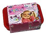 Feuchtmann Spielwaren 6210560 - Stecki Girls Konstruktions-Set One for Two, Box Midi, 170 g