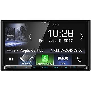 Kenwood DMX7017DABS AV-Receiver mit Bluetooth und Digitalradio, 17,7 cm, schwarz